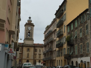 View of the Old City in Nice