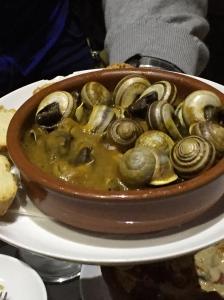 The snails!