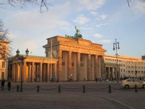 Another view of the Brandenburg Gate