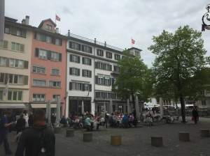 One of the main squares