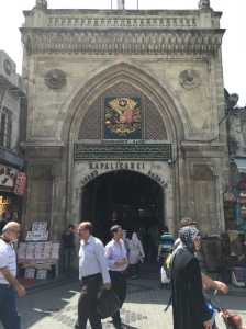 Entering the Grand Bazaar!